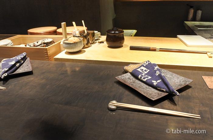 ヒルトン東京レストラン寿司カウンター
