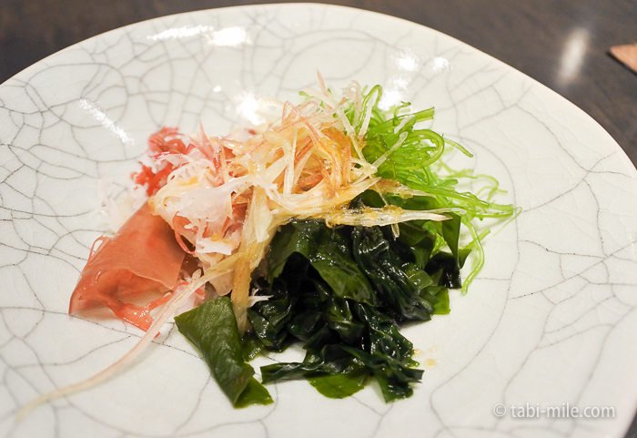 ヒルトン東京レストラン寿司サラダ
