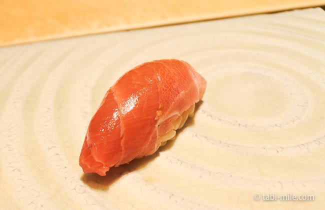 ヒルトン東京レストラン寿司まぐろ中トロ