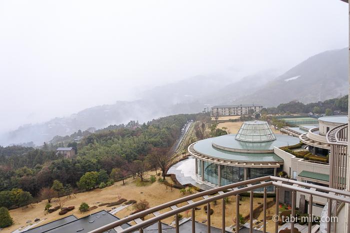 ヒルトン小田原窓からの風景