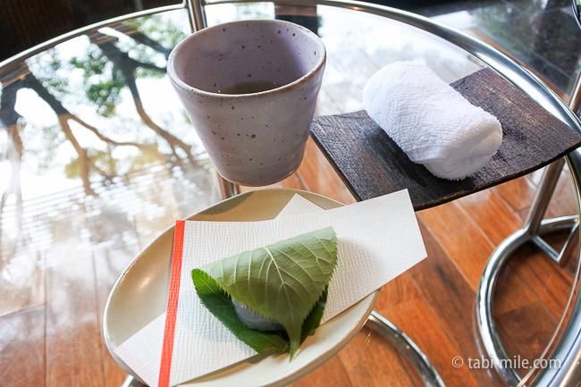 鬼怒川金谷ホテル水まんじゅう緑茶