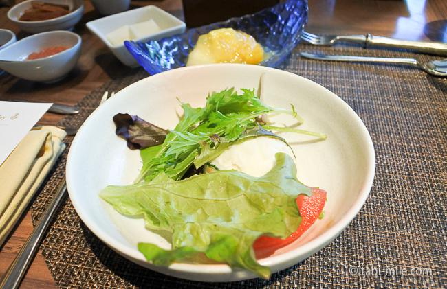 鬼怒川金谷ホテル朝食洋食ポテトサラダ