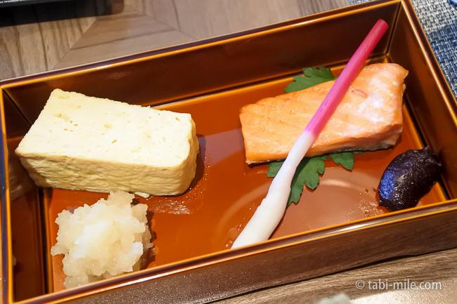 鬼怒川金谷ホテル朝食和食玉子焼き焼き魚