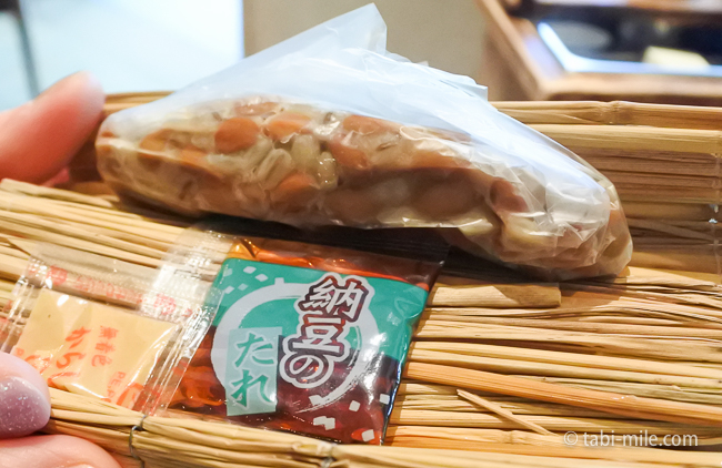 鬼怒川金谷ホテル朝食和食納豆麦入り