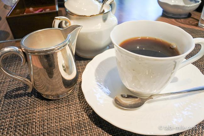 鬼怒川金谷ホテル朝食コーヒー