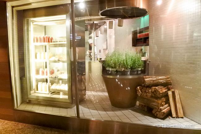 ANAインターコンチネンタルホテル東京ザ・ステーキハウス厨房
