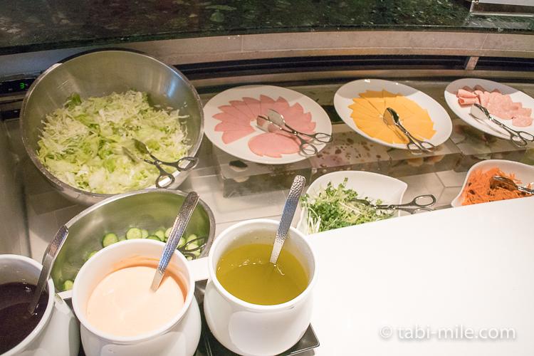 ヒルトン東京ベイ 朝食ブッフェ ハムチーズサラダ