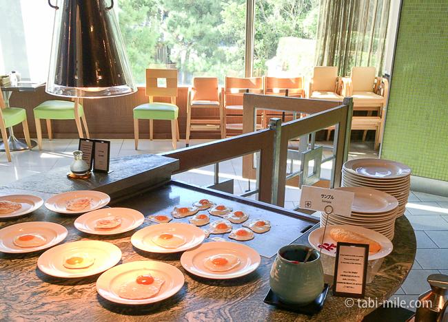 ヒルトン東京ベイ朝食ビュッフェ卵料理