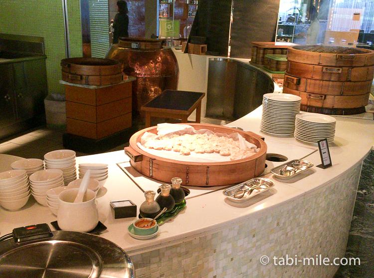 ヒルトン東京ベイ 朝食ブッフェ 和食おかず シュウマイ
