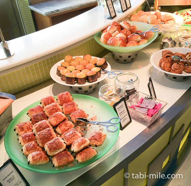 ヒルトン東京ベイ 朝食ブッフェ 洋食パンデニッシュ