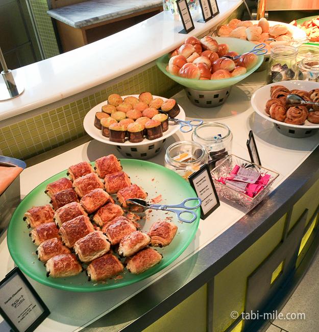 ヒルトン東京ベイ朝食ビュッフェパン
