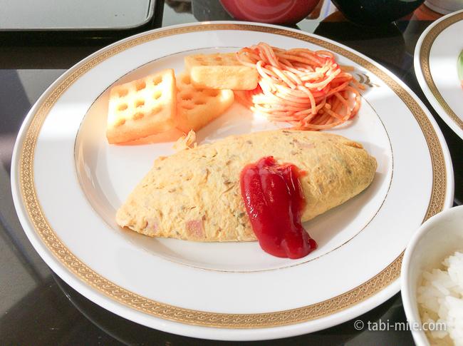ヒルトン東京ベイ朝食ビュッフェオムレツ