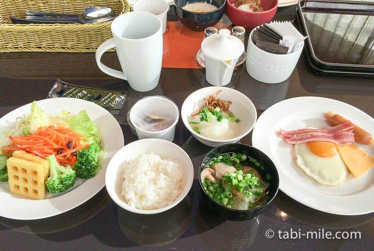 ヒルトン東京ベイ 朝食ブッフェ ご飯味噌汁