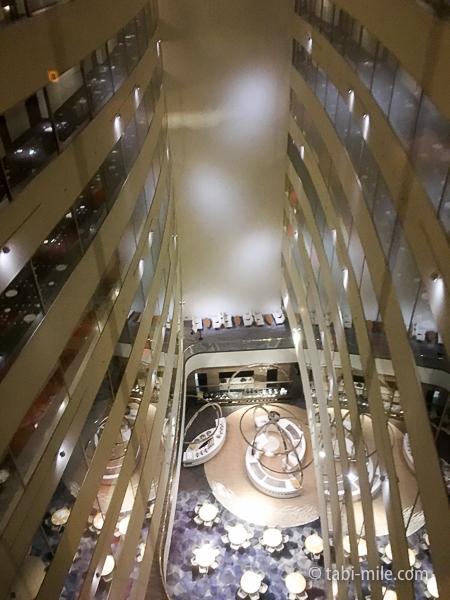 ヒルトン東京ベイ部屋セレブリオエレベーター