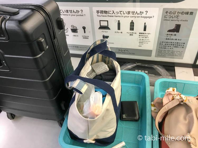 飛行機手荷物検査