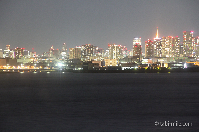 ヒルトン東京ベイ部屋セレブリオ夜景