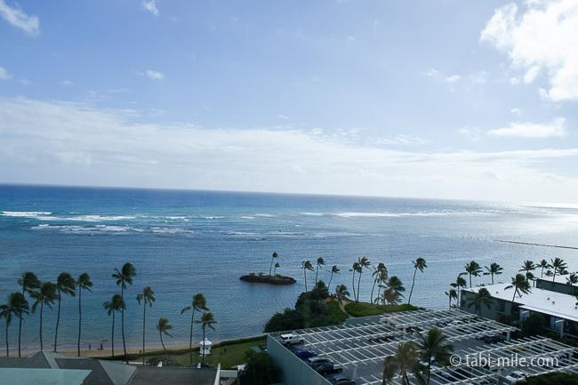 カハラホテルビーチ青いセルフパーキング