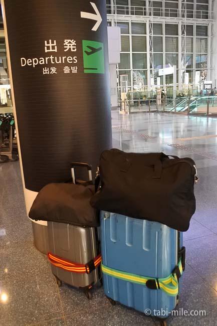 スーツケースサブバック