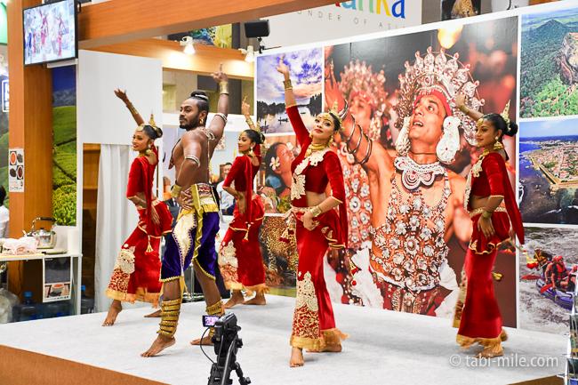 ツーリヅムEXPOジャパン2016スリランカ民族舞踊