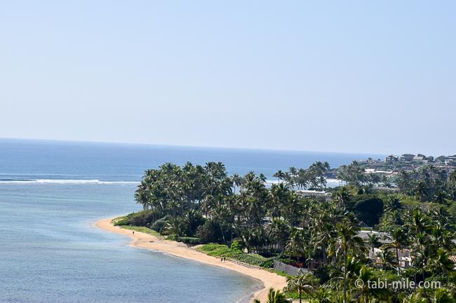 カハラホテルビーチ青い