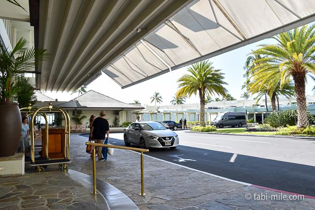 カハラホテルバレーパーキング
