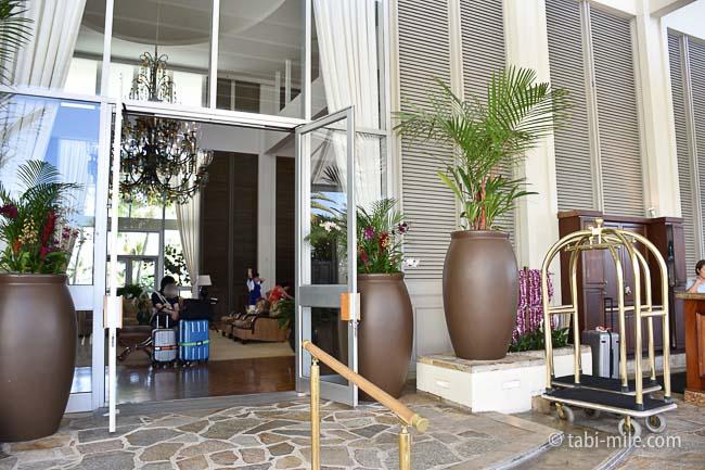 カハラホテル出入り口