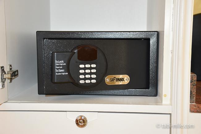 カハラホテル部屋オーシャンビューセーフティーボックス