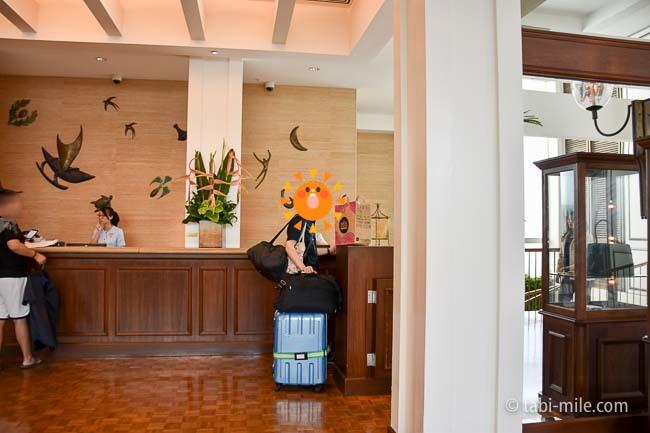 カハラホテルフロント