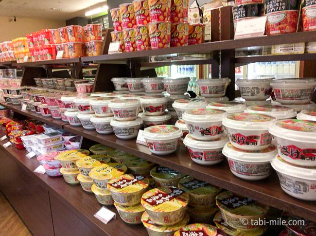 シェラトングランデ東京ベイコンビニカップ麺