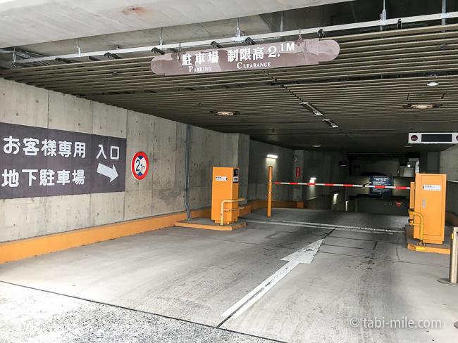 シェラトングランデ東京ベイ駐車場