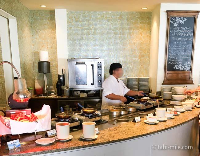 カハラホテル朝食ビュッフェ卵料理