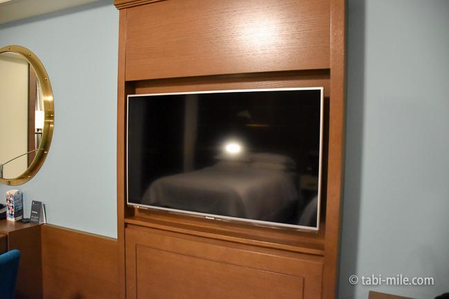 シェラトングランデ東京ベイ部屋オーシャンドリームルームテレビ