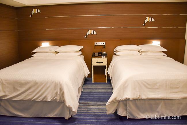 シェラトングランデ東京ベイ部屋オーシャンドリームルームベッド