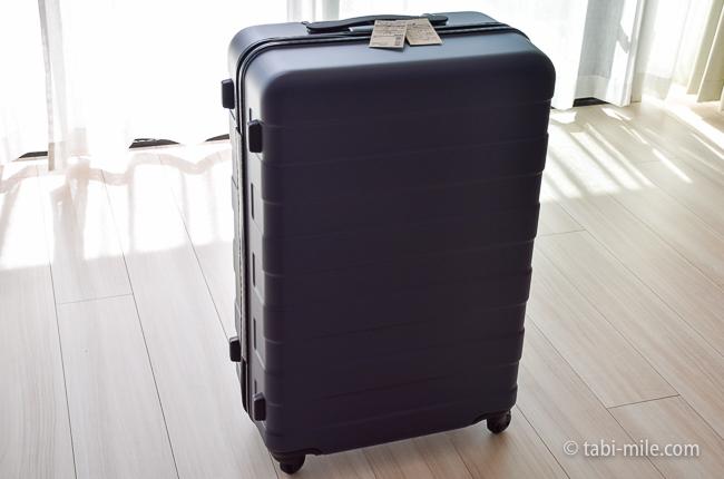 無印良品スーツケース 全体像