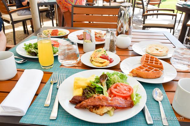 カハラホテル朝食ビュッフェ