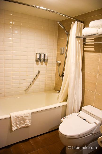 シェラトングランデ東京ベイ部屋オーシャンドリームルームバストイレ