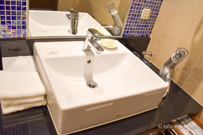 シェラトングランデ東京ベイ部屋オーシャンドリームルーム洗面台