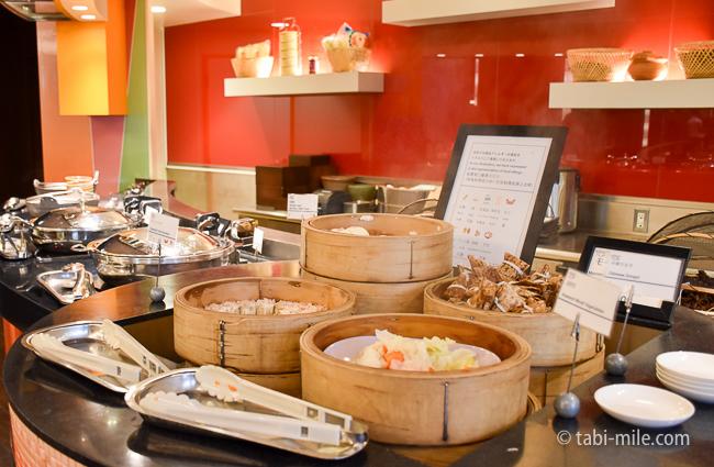シェラトングランデ東京ベイグランカフェ朝食ビュッフェ中華
