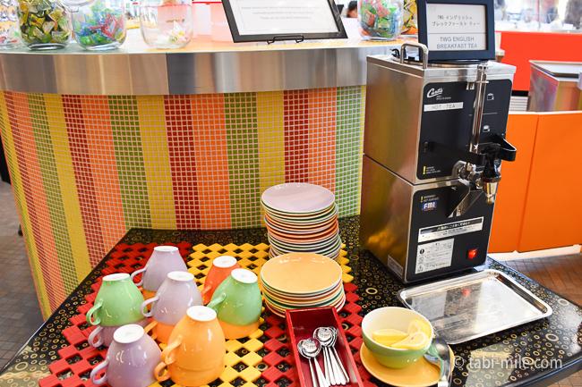 シェラトングランデ東京ベイグランカフェ朝食ビュッフェ