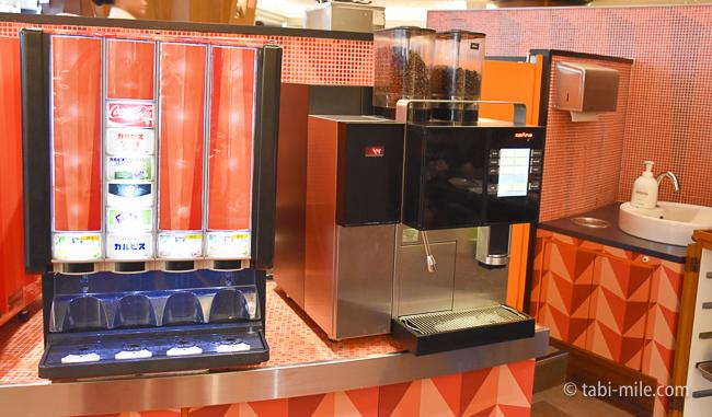 シェラトングランデ東京ベイグランカフェ朝食ビュッフェコーヒー