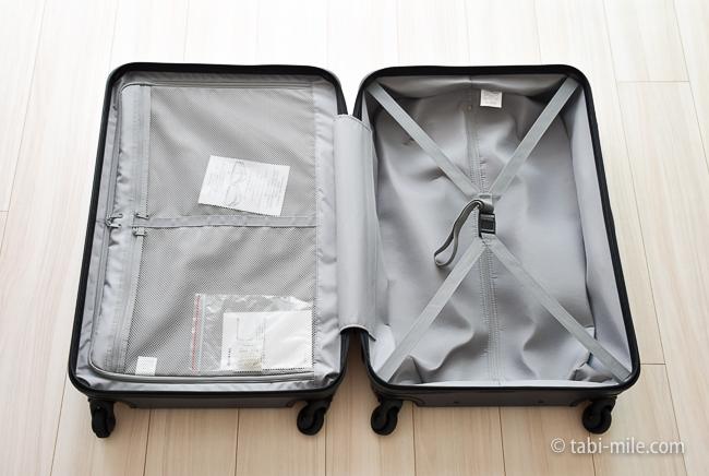 無印良品スーツケース 中身