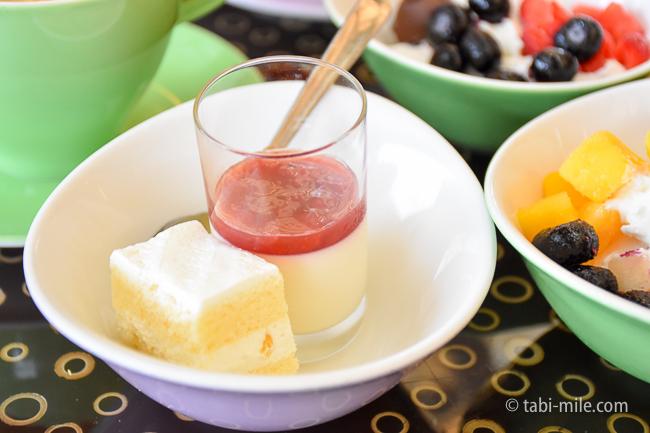 シェラトングランデ東京ベイグランカフェ朝食ビュッフェ豆乳ケーキ