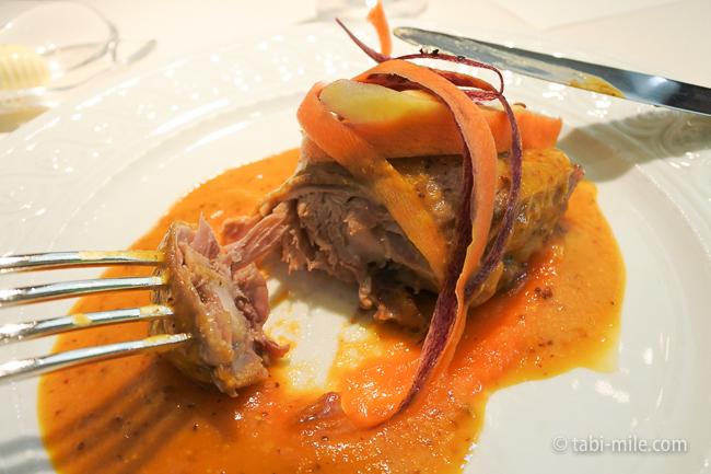 オテル・ドゥ・ミクニランチ肉料理鴨のコンフィ
