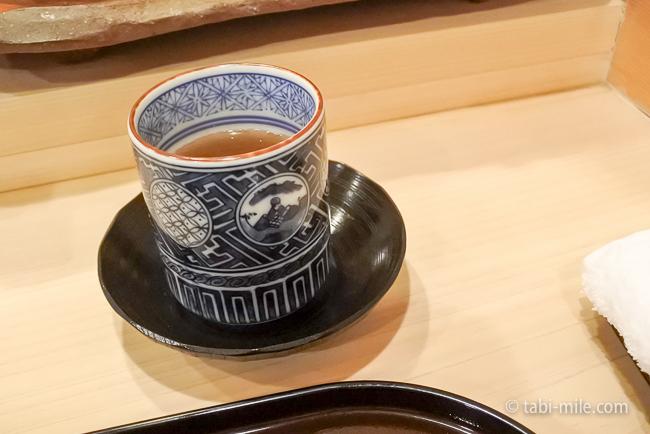 銀座レストランウィーク日本料理和久田ほうじ茶