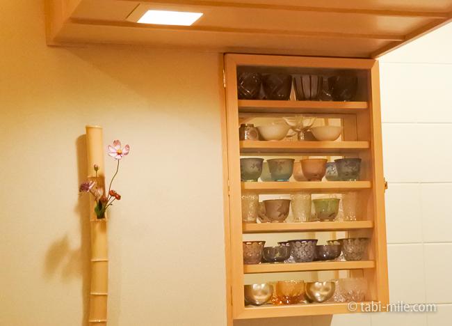 銀座レストランウィーク日本料理和久田内装