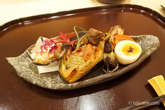 銀座レストランウィーク日本料理和久田子持ち鮎