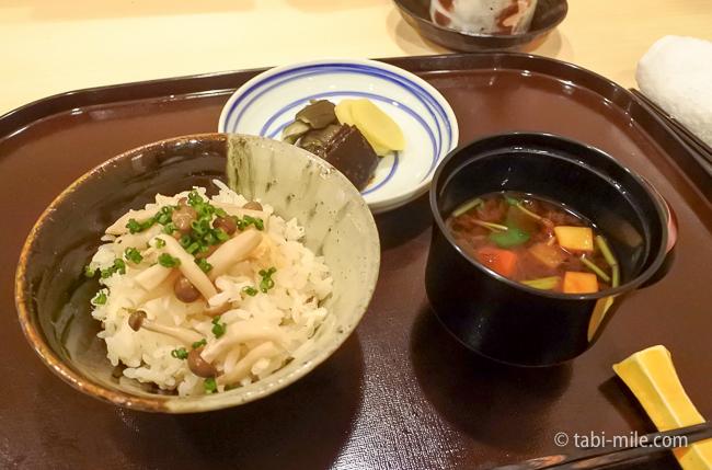 銀座レストランウィーク日本料理和久田シメのご飯