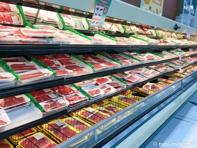 ペイレススーパーマーケット肉売り場