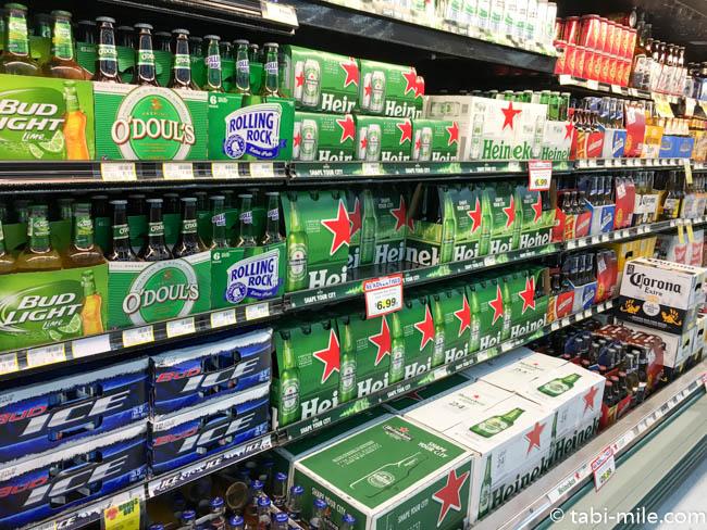 ペイレススーパーマーケット ビール売り場