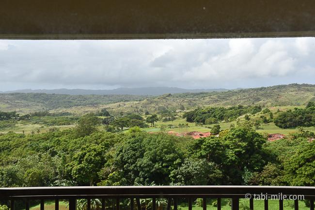 レオパレスリゾートグアム部屋コンドミニアム棟窓景色晴れ